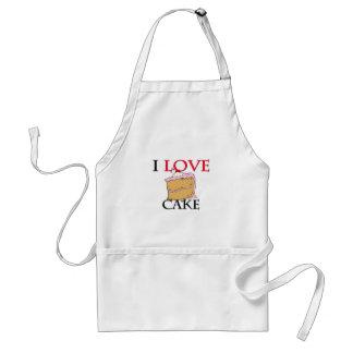 I Love Cake Apron