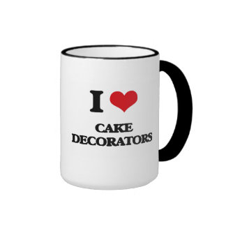 I love Cake Decorators Coffee Mug