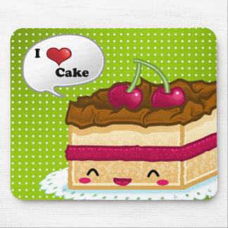 I love cake mouse pad