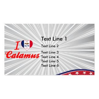 I Love Calamus, Iowa Business Card Template