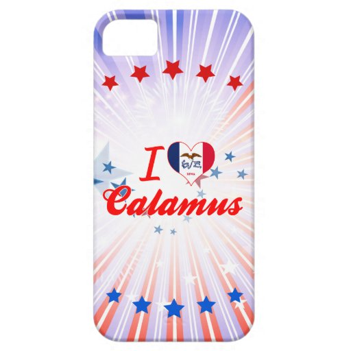 I Love Calamus, Iowa Case For iPhone 5/5S