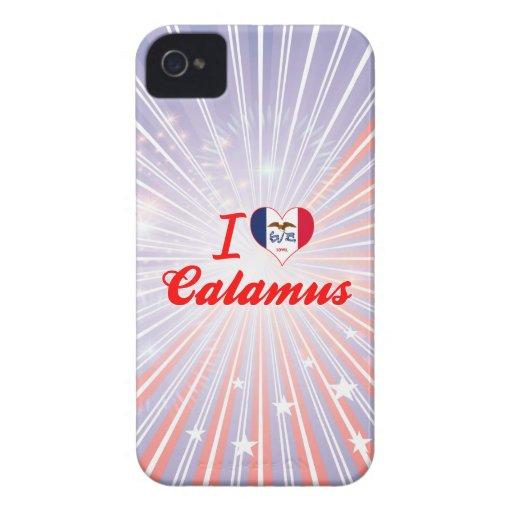 I Love Calamus, Iowa iPhone 4 Covers