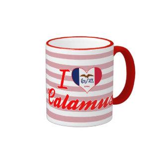 I Love Calamus, Iowa Coffee Mug