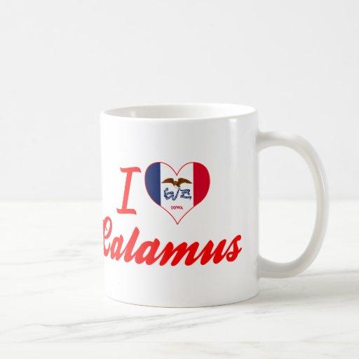I Love Calamus, Iowa Mug