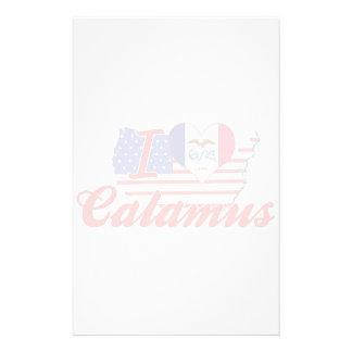 I Love Calamus Iowa Stationery