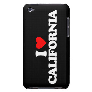 I LOVE CALIFORNIA Case-Mate iPod TOUCH CASE