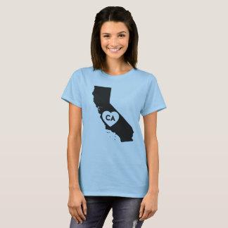 I Love California State Women's Basic T-Shirt