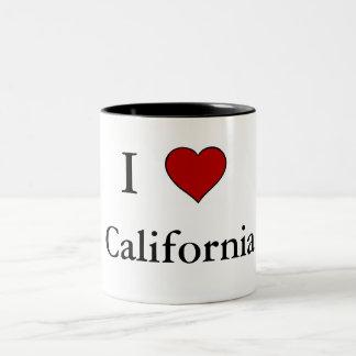 I Love California - Two-Tone Mug
