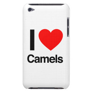 i love camels iPod touch case