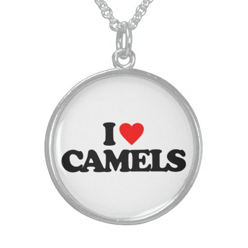 I LOVE CAMELS NECKLACE