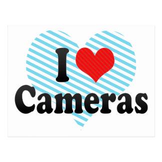 I Love Cameras Post Cards