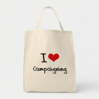 I love Campaigning Canvas Bag