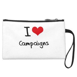 I love Campaigns Wristlet