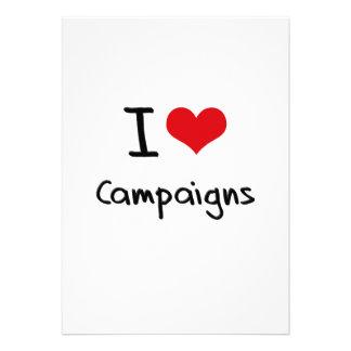 I love Campaigns Custom Invite