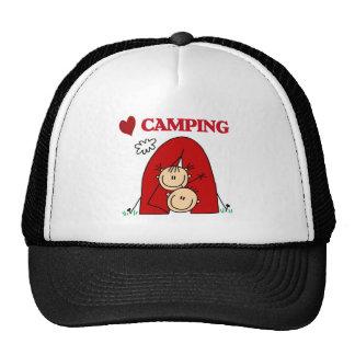 I Love Camping Cap