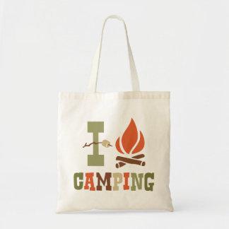I Love Camping Tote Bag