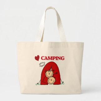 I Love Camping Bag