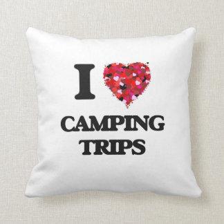 I love Camping Trips Cushion