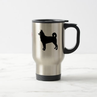 I Love Canaan Dogs Travel Mug
