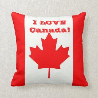 I Love Canada! Cushion