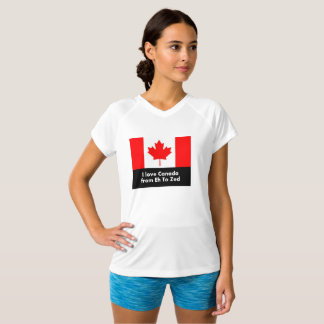 I Love Canada from Eh to Zed - Fun T-Shirt