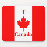 I Love Canada Mousepad