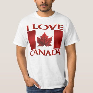 I Love Canada T-shirt Value Souvenir Canada Shirt