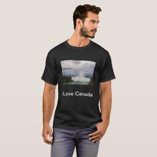 I Love Canada T-shirt with the Niagara Falls