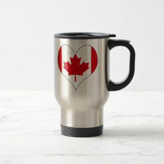 I Love Canada Travel Mug
