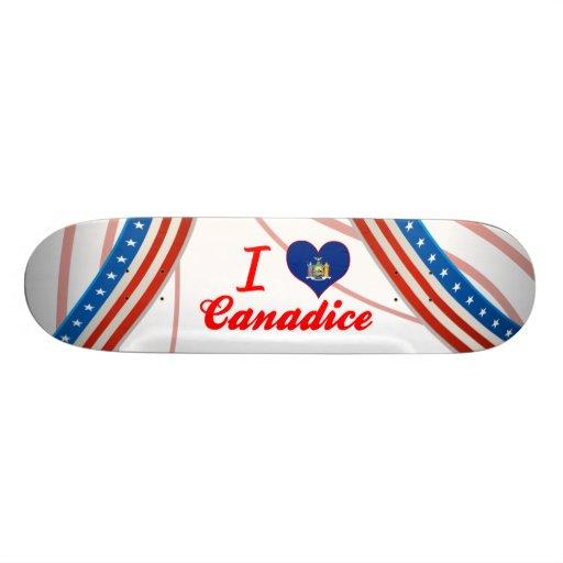 I Love Canadice, New York Skateboards