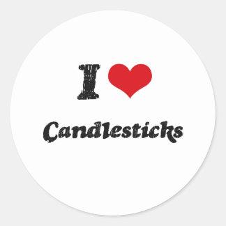 I love Candlesticks Stickers