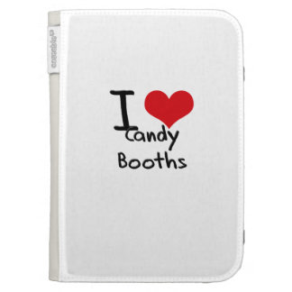 I love Candy Booths Kindle Cases