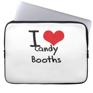 I love Candy Booths Laptop Sleeve