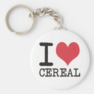 I LOVE Candy Cereal Cake Products & Designs! Basic Round Button Key Ring