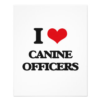 I love Canine Officers Flyers