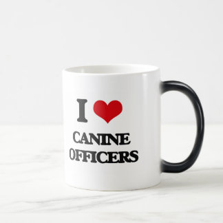 I love Canine Officers Mug