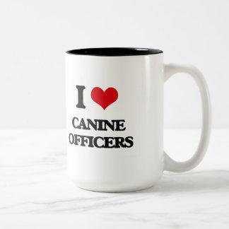 I love Canine Officers Coffee Mug