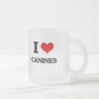 I love Canines Coffee Mugs