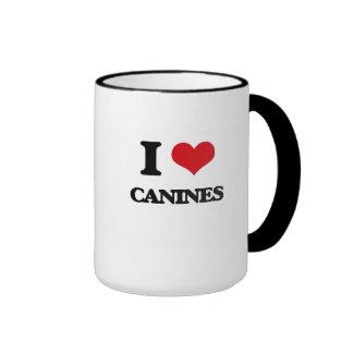 I love Canines Mugs