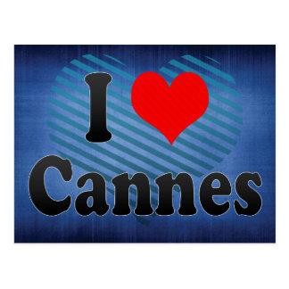 I Love Cannes, France Postcard
