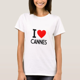 I Love Cannes T-Shirt