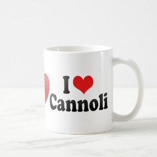 I Love Cannoli Coffee Mug