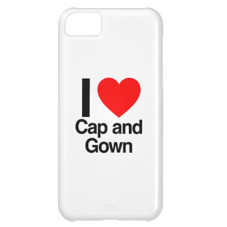 i love cap and gown iPhone 5C case