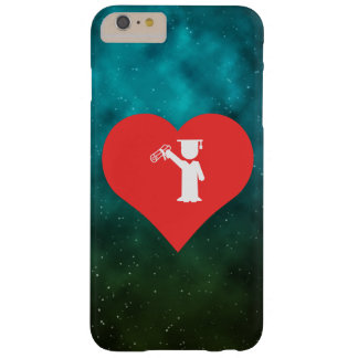 I Love Cap And Gown Barely There iPhone 6 Plus Case
