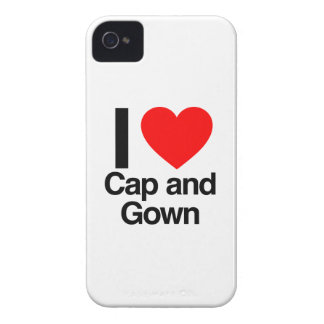 i love cap and gown iPhone 4 cases