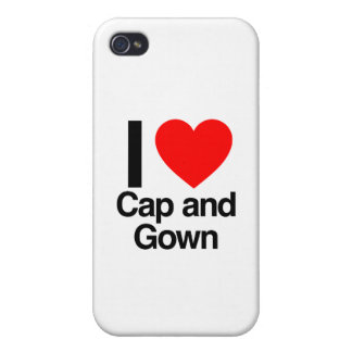 i love cap and gown iPhone 4 covers