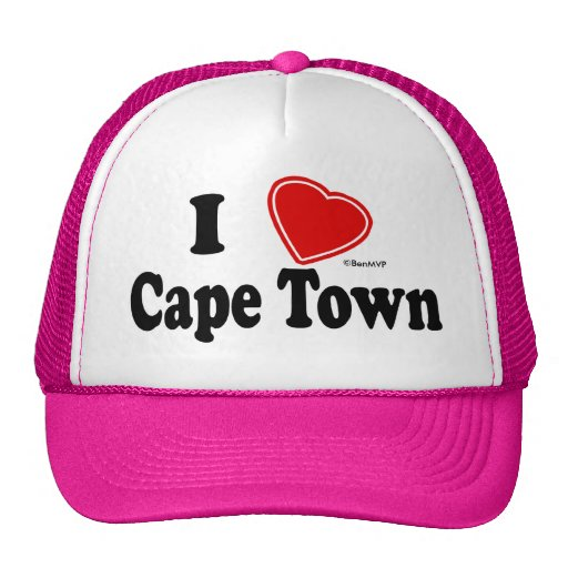 I Love Cape Town Trucker Hat