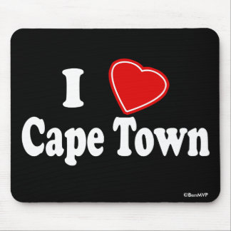 I Love Cape Town Mouse Pad