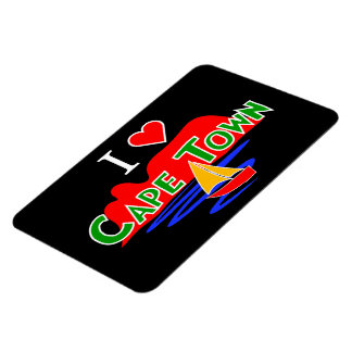 I Love Cape Town Table Mountain Large Flexi Magnet