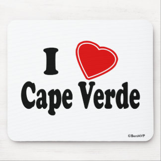 I Love Cape Verde Mouse Pad
